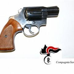 Dettaglio revolver