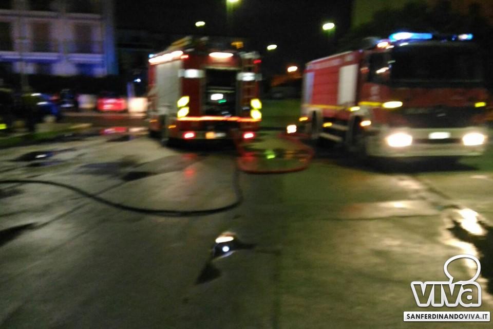 incendio San Ferdinando di Puglia