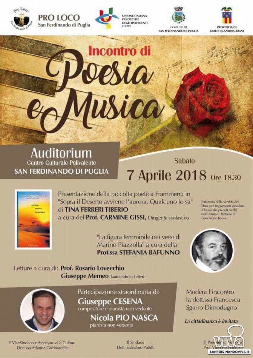 Poesia e Musica - Pro Loco