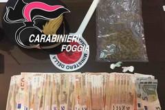Scoperto con cocaina e marijuana, nei guai un 44enne di San Ferdinando di Puglia