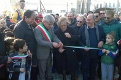 """Inaugurata villa comunale """"Giuseppe Di Vittorio"""" a San Ferdinando"""