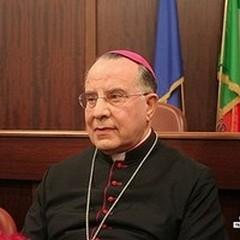 L'arcivescovo Giovan Battista Pichierri è salito alla casa del padre