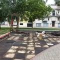 Parco in piazza Monsignor Gallo per bambini disabili