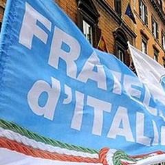 """""""Povera Patria """", raccolta fondi e generi alimentari di Fratelli d'Italia"""