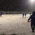 La Virtus San Ferdinando si allena sotto la neve