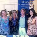 Rotary Club Valle dell'Ofanto, il martelletto passa a Lucia Cinque