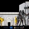 """""""Aspettando la Disfida - Oggi e Domani il Videomapping sulla facciata della Basilica del S. Sepolcro realizzato dallartista Hermes Mangialardo"""