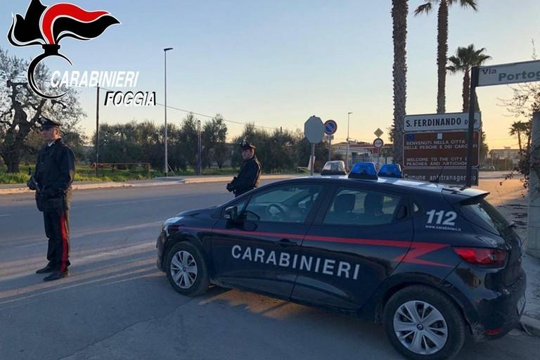 Carabinieri San Ferdinando di Puglia