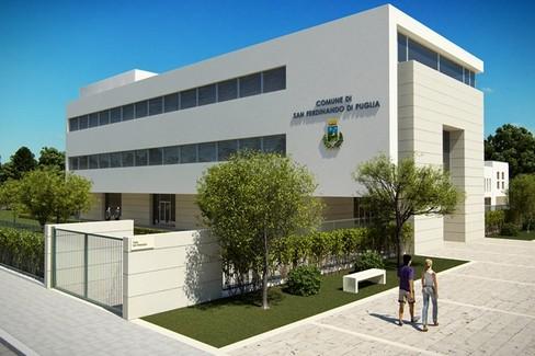 Comune di San Ferdinando di Puglia Costruzione dell edificio Sede