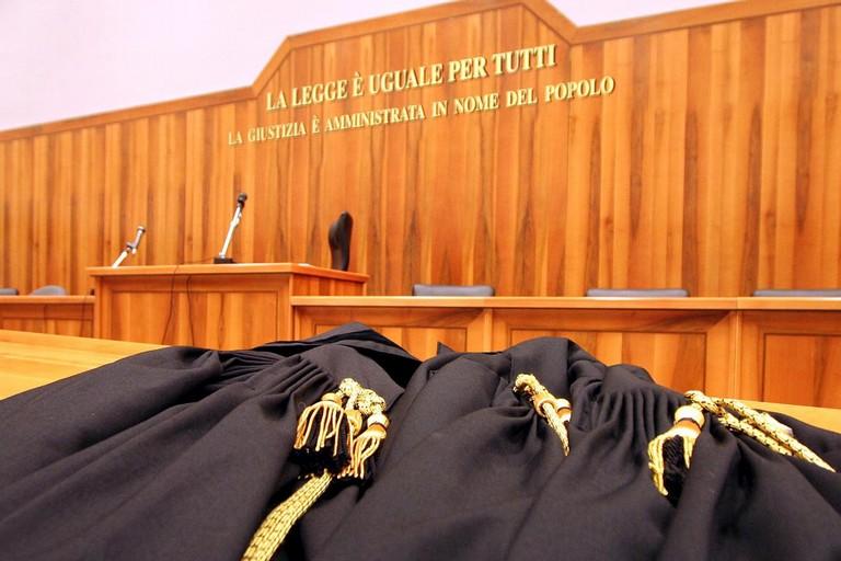 giustizia toghe sentenza processo