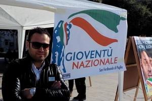 Donato Tarollo, Gioventù Nazionale Fratelli d'Italia AN