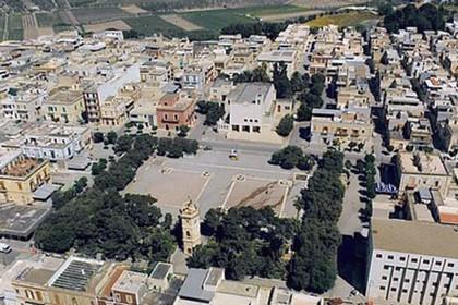Veduta aerea San Ferdinando di Puglia