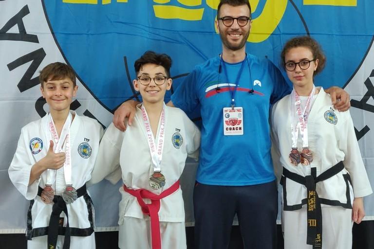Taekwondo, medaglie per gli atleti della BAT. In Romania ci sarà Alessandra Marzulli