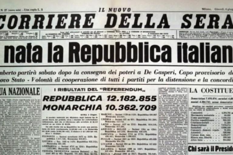 2 giugno 1946 - Repubblica italiana