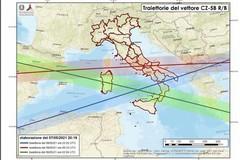 Razzo cinese in caduta sulla Puglia: «State al chiuso lontani da porte e finestre»