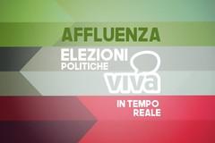 Elezioni politiche, i dati dell'affluenza