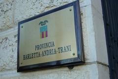 Provincia Bat: Prioritari gli interventi per scuole, strade e servizi alle fasce più deboli