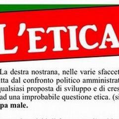 """Il centrosinistra richiama  """"l'etica """" in difesa"""