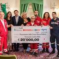 """""""Il nostro cuore non trema. Batte """", 20mila euro per le vittime del terremoto"""