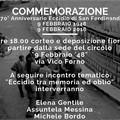 70 anni dopo: il PD ricorda l'eccidio di San Ferdinando di Puglia