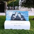 Una panchina letteraria simbolo della lotta alla mafia