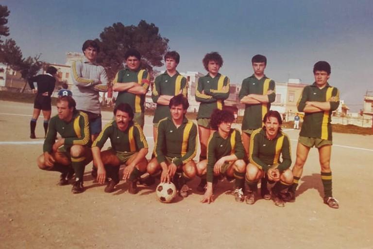 Squadra di calcio a San Ferdinando