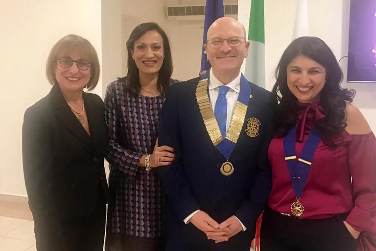 La visita del Governatore Donato Donnoli al Rotary Club Valle dell'Ofanto