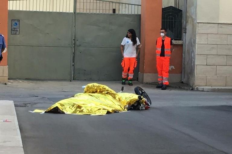 Omicidio Lafranceschina. <span>Foto Giuseppe Capacchione</span>