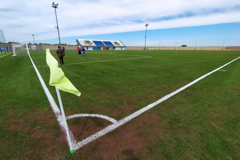 Campo sportivo. <span>Foto Giuseppe Capacchione</span>