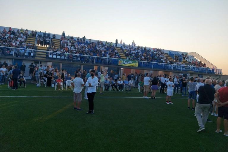 Stadio San Ferdinando di Puglia. <span>Foto Anna Verzicco</span>