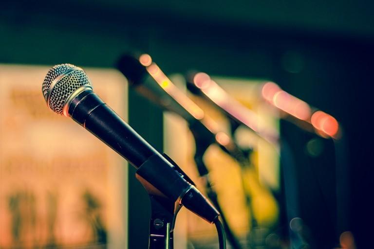 Microfono Musica